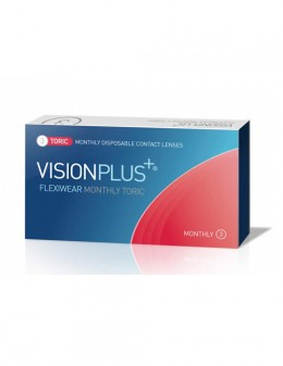 Visionplus Flexiwear Monthly Toric